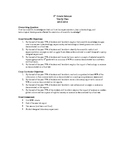 5th Grade Science Curriculum