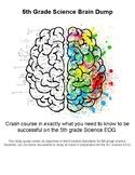 5th Grade Science EOG Brain Dump