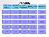 NC 5th Grade Science EOG Review Jeopardy (Game 2)