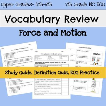 Eog 5th Grade Science Review Worksheets Teaching Resources