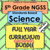 5th Grade Science Full Year NGSS Lessons Bundle
