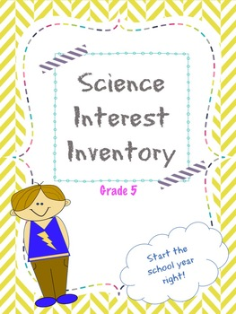 5th Grade Science Interest Inventory