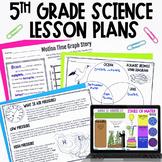 5th Grade Science Lesson Plan Bundle - NC Essential Scienc