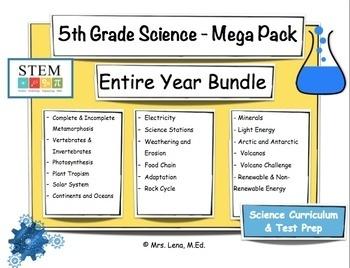 5th Grade Science - Mega Bundle