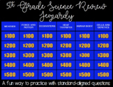 5th Grade Science Jeopardy NC EOG Review