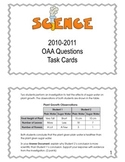 5th Grade 2010-2011 Science OAA Task Cards
