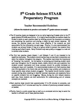 5th Grade Science (SPRING) Daily Preparatory Warm-Ups (FREE)