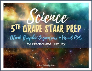 5th Grade Science STAAR 2019 Test Review and Study Materials {Supplemental Aids}