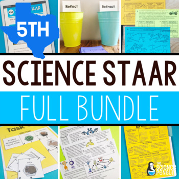 5th Grade Science STAAR Bundle