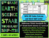 5th Grade Earth Science STAAR-Alternative Energy, Fossils, Climate, Rotation*ZIP