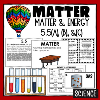 5th Grade Science  - Physical Science - Matter