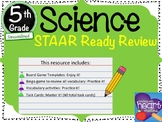 5th Grade Science STAAR Ready Review (Streamlined)