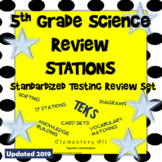 5th Grade Science STAAR Review Stations