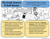 5th Grade Science STAAR Review