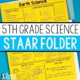 5th Grade Science STAAR Review Folder