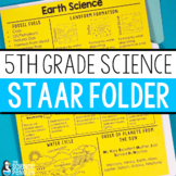 5th Grade Science STAAR Review Folder