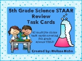 5th Grade Science STAAR Review Task Cards