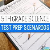 5th Grade Science STAAR Scenarios  | Printable and Digital | Distance Learning