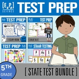 5th Grade Science STAAR Test- State Test Prep- Review Bundle