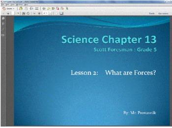 5th grade science scott foresman ch 13 2 power point presentation