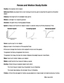 5th Grade Science Study Guide - NC Essential Standards