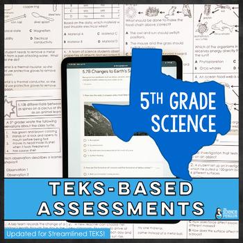 5th Grade Science TEKS Based Assessments
