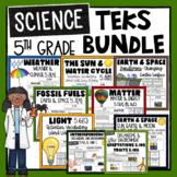 5th Grade Science TEKS Bundle