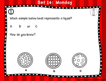 5th Grade Science TEKS  Daily Spiral Review GOOGLE & Paper Version Part 3