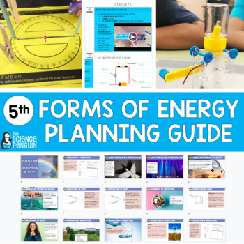 5th Grade Science TEKS Planning Guide: Energy