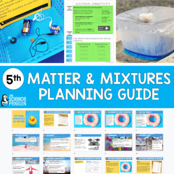 5th Grade Science TEKS Planning Guide: Matter and Mixtures