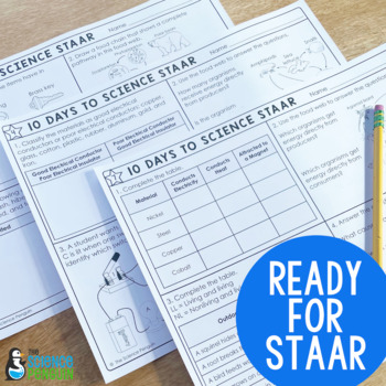 5th Grade Science TEKS Planning Guide: STAAR Test Prep