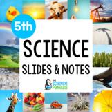 5th Grade Science TEKS Slides & Notes BUNDLE