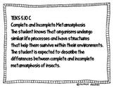 5th Grade Science TEKS posters (TEXAS STANDARDS) FREEBIE!