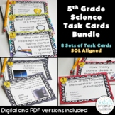 5th Grade Science Task Card Bundle {Digital & PDF Included}