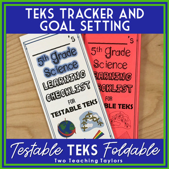 5th Grade Science Testable TEKs Learning Checklist