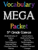 5th Grade Science Vocabulary MEGA Pack