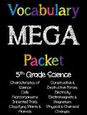 5th Grade Science Vocabulary MEGA Pack