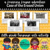 5th Grade September Reading Adventure- The Case of the Era