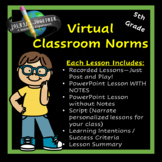 5th Grade Setting Norms for the Virtual Classroom