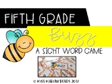 5th Grade Sight Word BUZZ