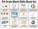 5th Grade Skills Checklists