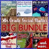 5th Grade Social Studies Big Bundle