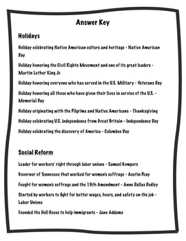 5th Grade Social Studies End of Year BINGO - Tennessee Focus
