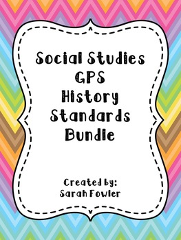 5th Grade Social Studies History Bundle!