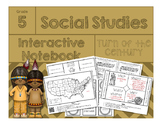 5th Grade Social Studies Interactive Notebook-Turn of the Century