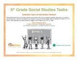 5th Grade Social Studies Performance Tasks