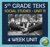 5th Grade Social Studies TEKS Unit 11: Cold War & Civil Rights Movement to Today