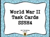 World War II Task Cards (GMAS:  SS5H4)