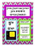 5th Grade Social Studies and Science Spiral Homework - Ent
