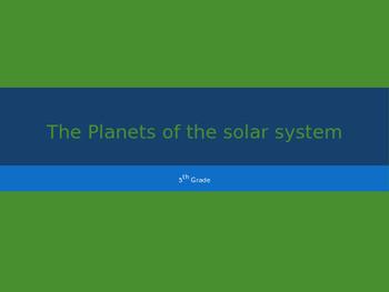 5th Grade Solar System PowerPoint